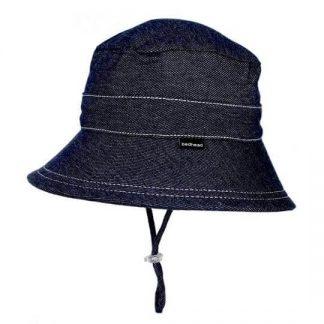 Bedhead Kids Bucket Hat  - Denim - 54cm / 3-6 Years / XL