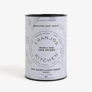 Franjo's Kitchen - Tanker Topper Muesli - Date, Walnut and Maple