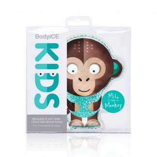 BodyICEKids Reusable Ice And Heat Pack - Milo The Monkey