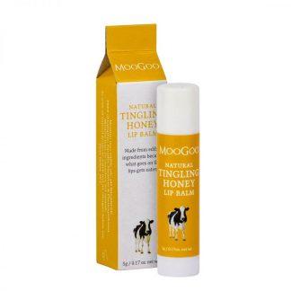MooGoo Lip Balm - Tingling Honey 5g